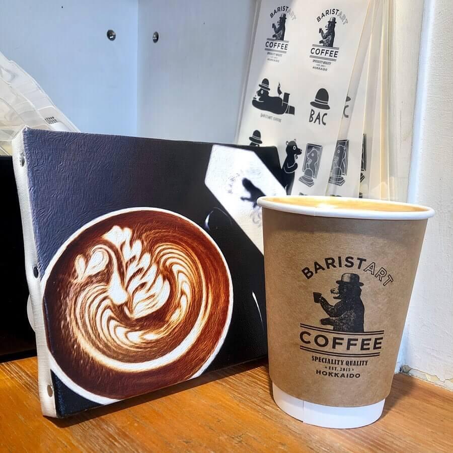 BARISTART COFFEEのカフェラテ