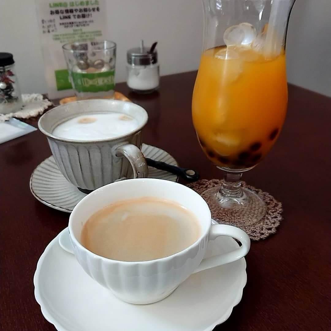 cafe sweets zakka ひなたぼっこのドリンク