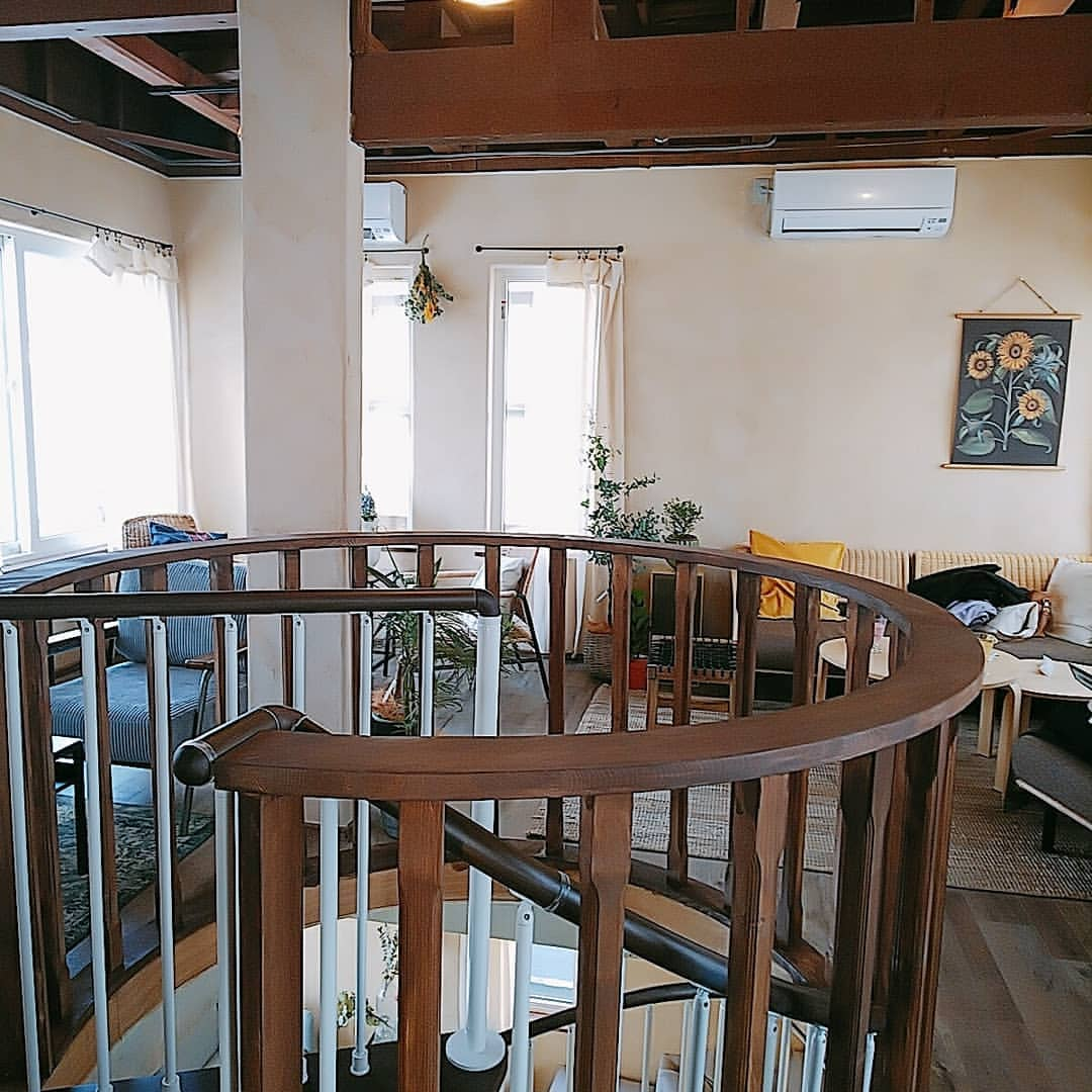 La Maison Nollys(ラメゾンノーリーズ)のカフェスペース