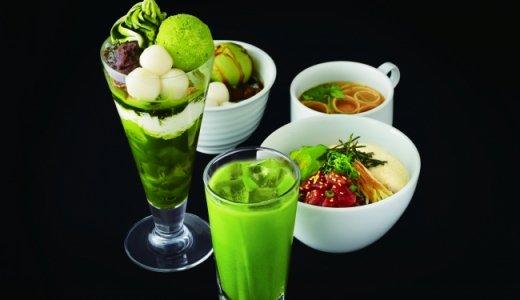 【ナナズグリーンティー 札幌パルコ店】パフェや甘味などのスイーツを提供する和カフェ
