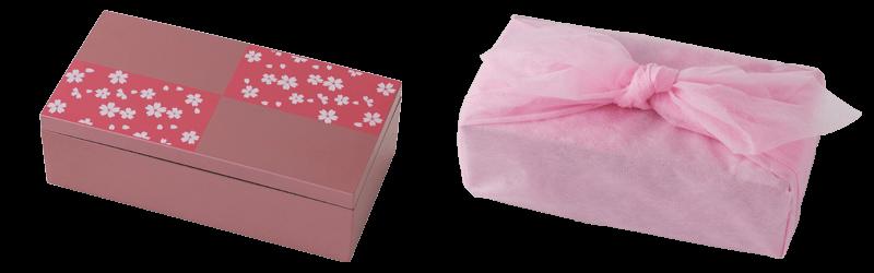 ルタオの『ひなまつりスイーツボックス』の小箱