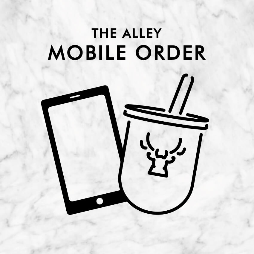 THE ALLEY 公式アプリのロゴ