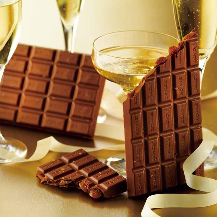 ロイズの板チョコレート[シャンパンレーズン]