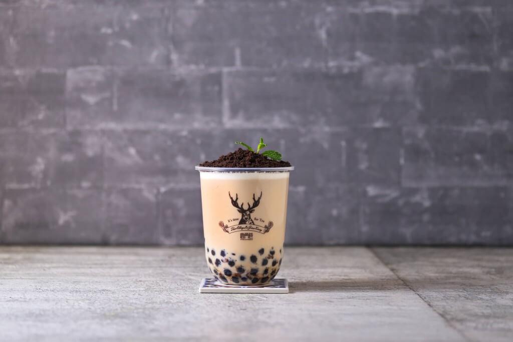 THE ALLEY(ジ アレイ)の盆栽タピオカミルクティー