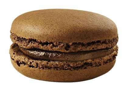 マクドナルドのマカロン チョコレート