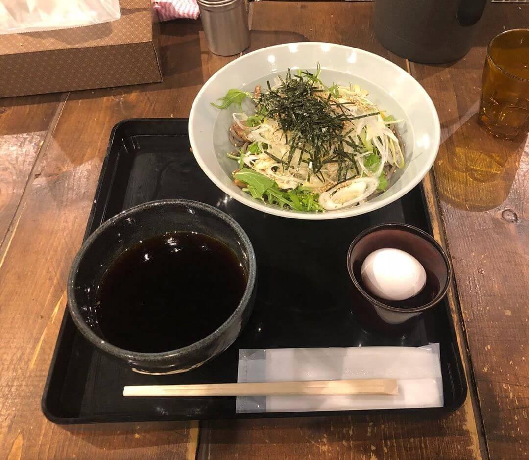 札幌ガッつけ蕎麦の鶏がっつけ蕎麦