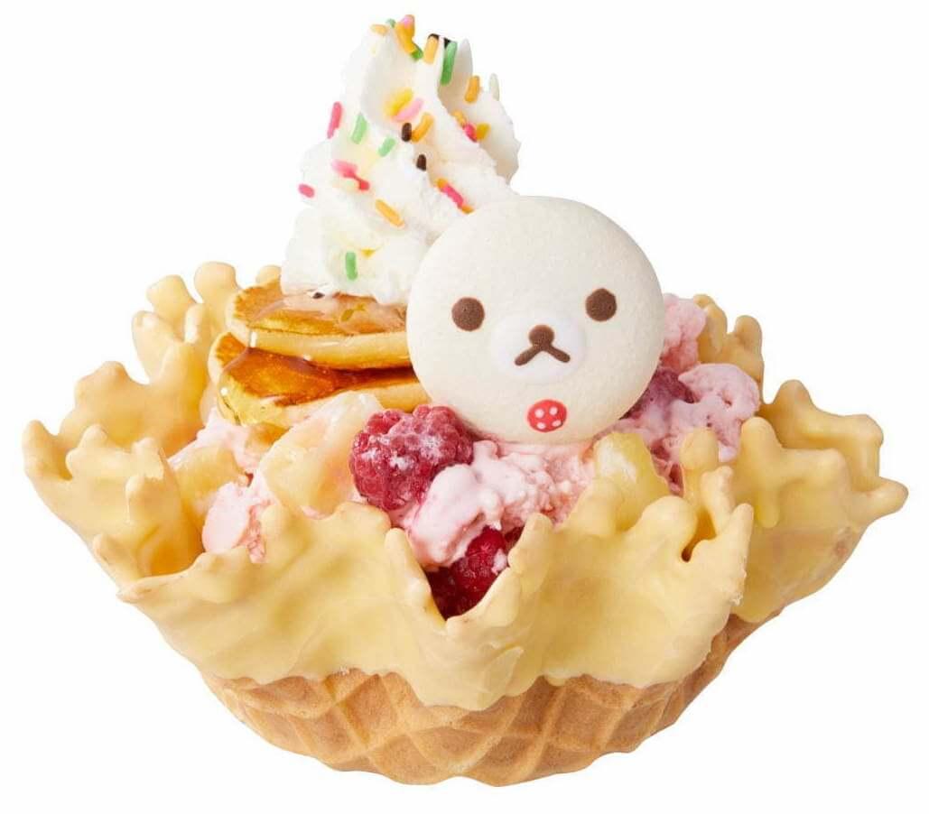 コールド・ストーンの『コリラックマのパンケーキ オン アイス』