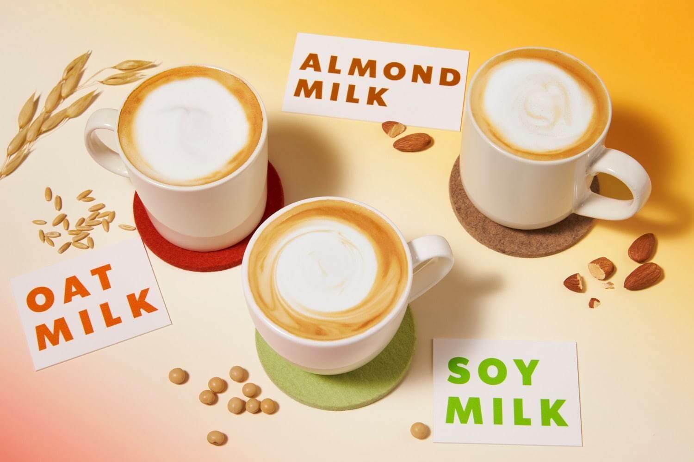 スターバックスのオーツ&アーモンド2種の植物性ミルク