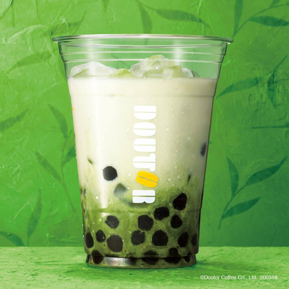 ドトールの『タピオカ ~宇治抹茶ミルク~』