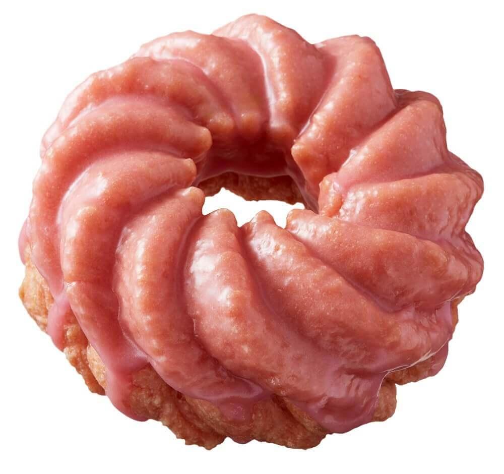 ミスタードーナツの『桜フレンチ-桜フレーバー』