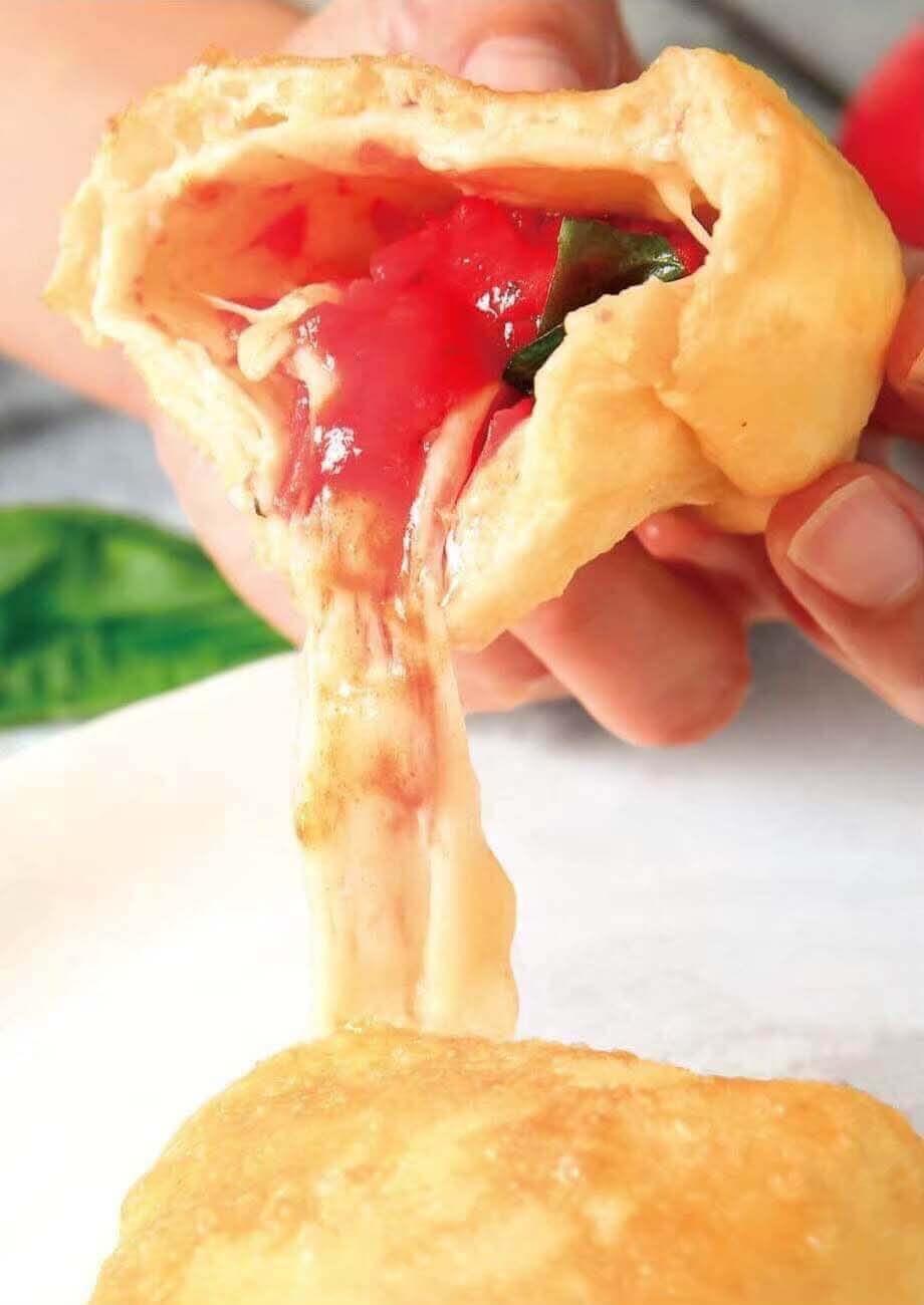 函館ポケットピザの『ポケットピザマルゲリータ』