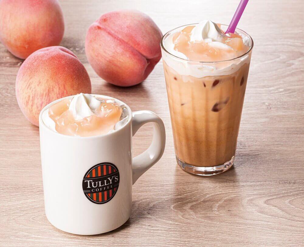 タリーズコーヒーの『&TEA ピーチコンフィチュールロイヤルミルクティー』