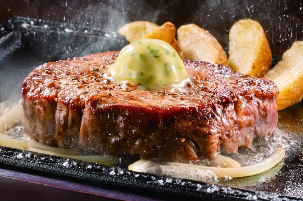 ステーキガストのやわらかヒレステーキ