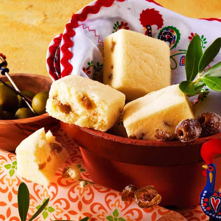 ロイズのオリーブとチーズのプチケーキ