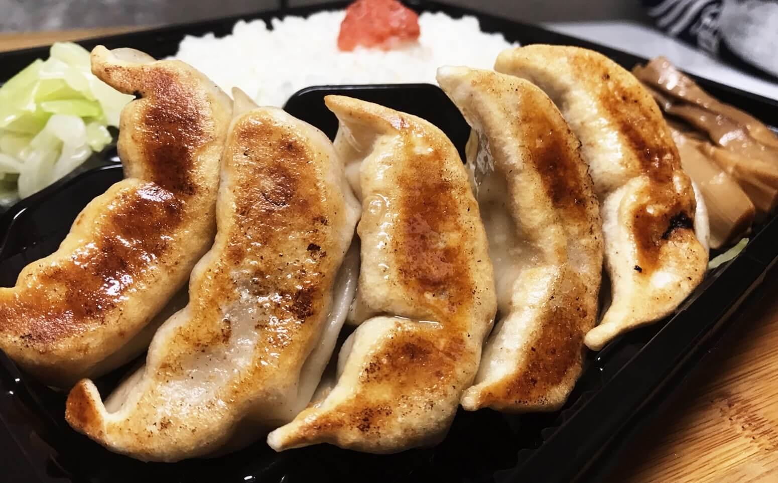 ダンダダン酒場の肉汁焼餃子弁当