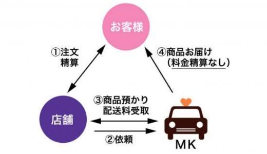 MKタクシーがタクシーで料理の配達を行う『MKのタク配』を4月28日(火)より開始!