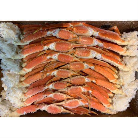おウチで大北海道展で販売する食材屋 えぞ商店の『ボイル本ズワイガニ脚セット』