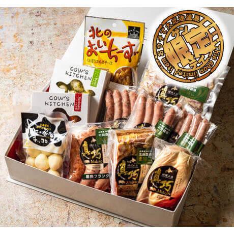 おウチで大北海道展で販売する長沼あいすの『チーズ&真巧ギフト』