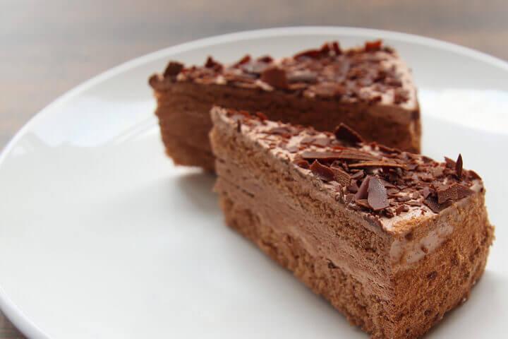 すたみな太郎のチョコレートケーキ