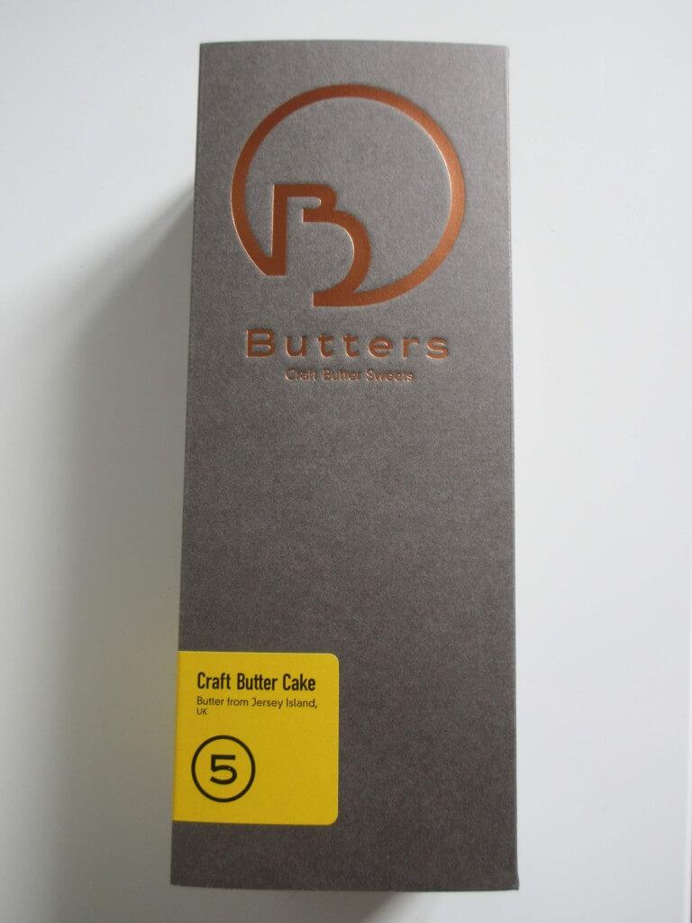 Buttersの『クラフトバターケーキ』-パッケージ