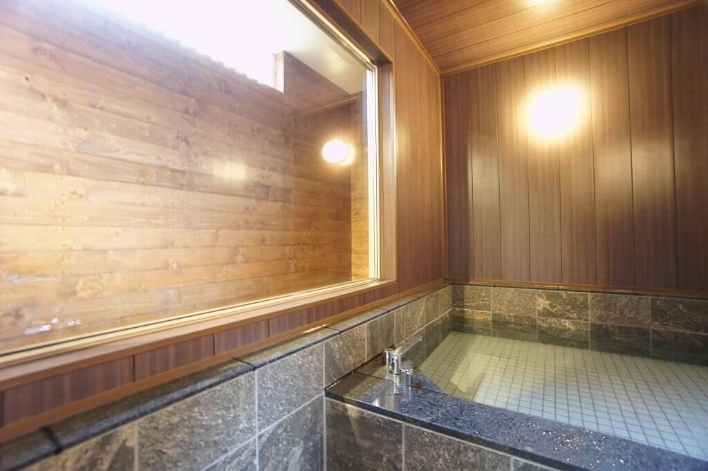 SAKURA定山渓 膳(サクラジョウザンケイ ゼン)の如月棟 お風呂1