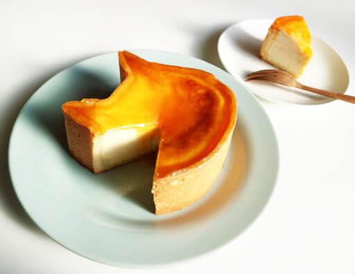 『ねこねこチーズケーキ』のチーズケーキ