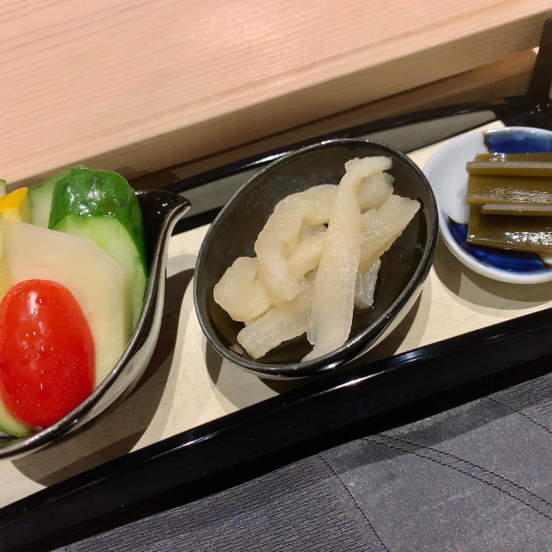 姫沙羅(ひめしゃら)の自家製漬け物