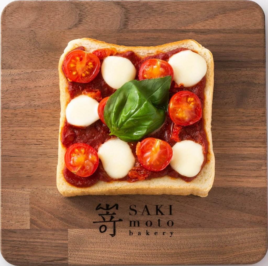 高級食パン専門店 嵜本(さきもと)の『極美オープンサンド‐マルゲリータ』