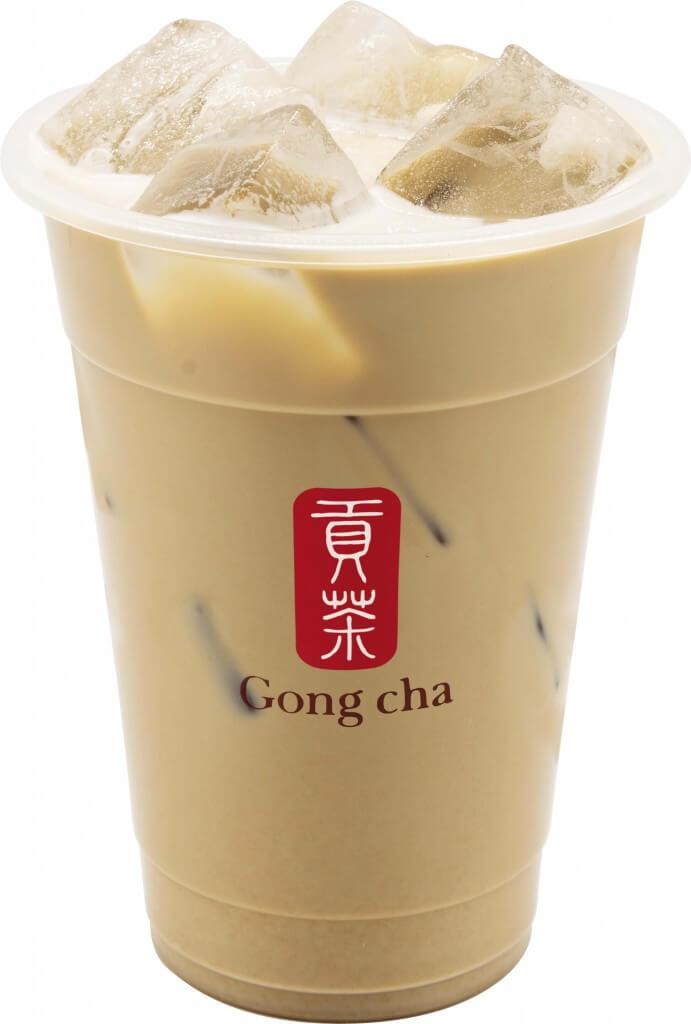 ゴンチャの『ほうじ茶 ミルクティー』