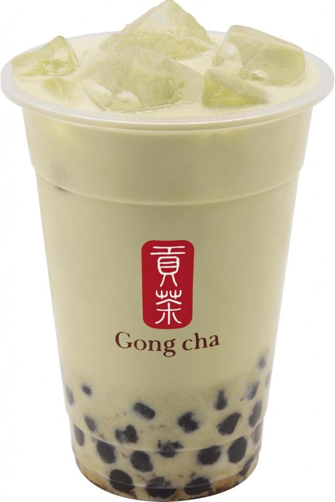 ゴンチャの『玄米茶 ミルクティー』