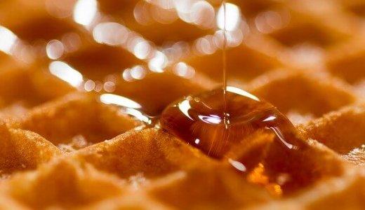 【モニュセドカフェ】東区にエアリーワッフルを提供するカフェがオープン!テイクアウトのワッフルサンドも!