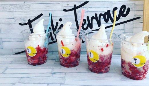 【つきてらす】浜中産特選牛乳の濃厚ソフトクリームや贅沢パフェを札幌各地で販売するキッチンカー!