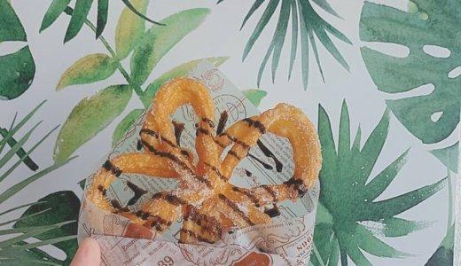 【FUN TRIP Cherrrrry】見た目も華やかな『フラワーチュロス』に『すだちサイダー』も販売するキッチンカー店!