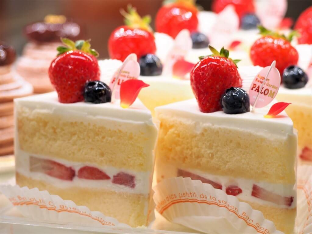 Sapporo Sweets Garden PALOM(札幌スイーツガーデン パロム)の『イチゴのショートケーキ』