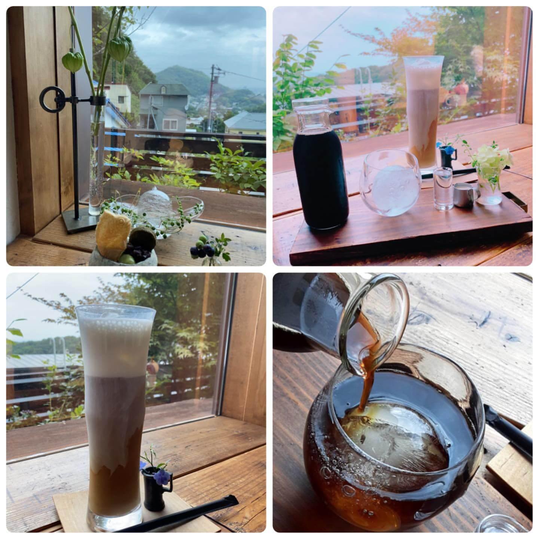 円山CAFE サカノウエのアイスコーヒー
