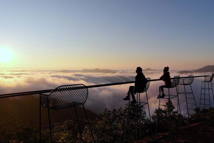 星野リゾート トマムの雲海テラス