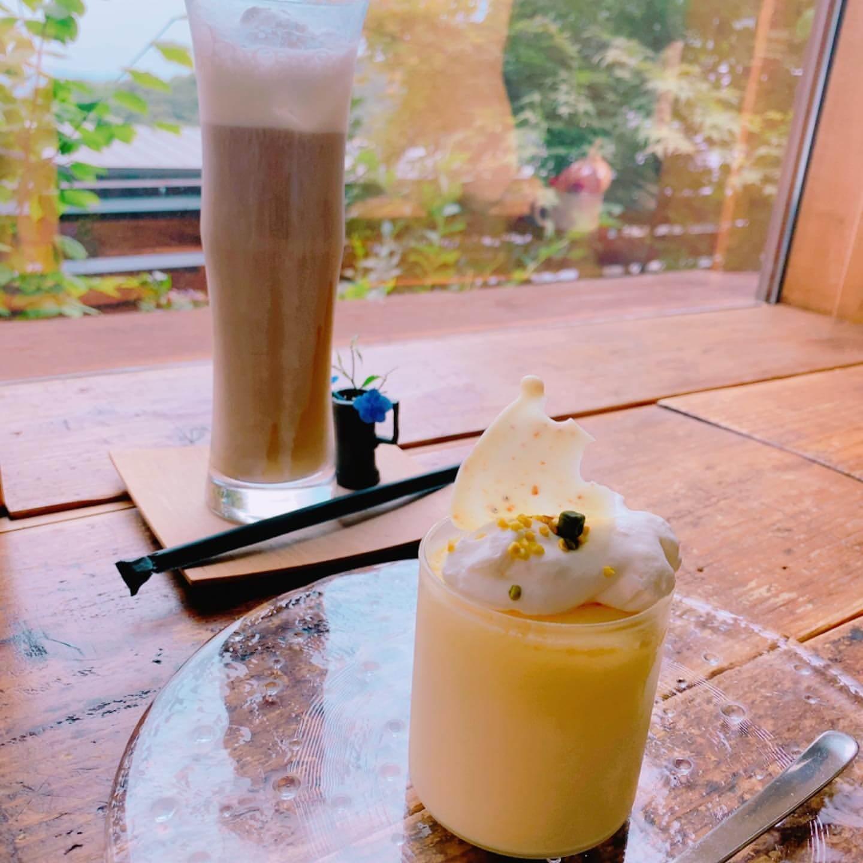 円山CAFE サカノウエのスフレチーズケーキ
