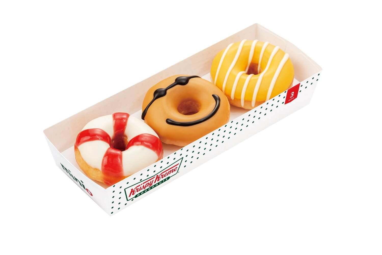 クリスピー・クリーム・ドーナツの『ミニ ボックス 3個入り』