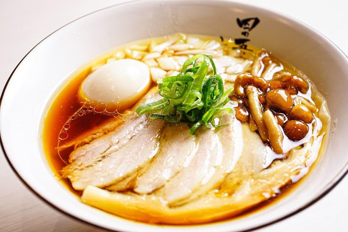 蝦夷麺 四の五の言わず 札幌本店の四五醤油