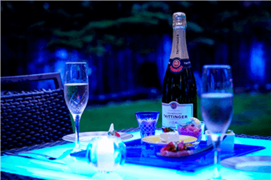 札幌パークホテル『Sapporo Park Hotel Garden Dining』(Champagne Terrace)