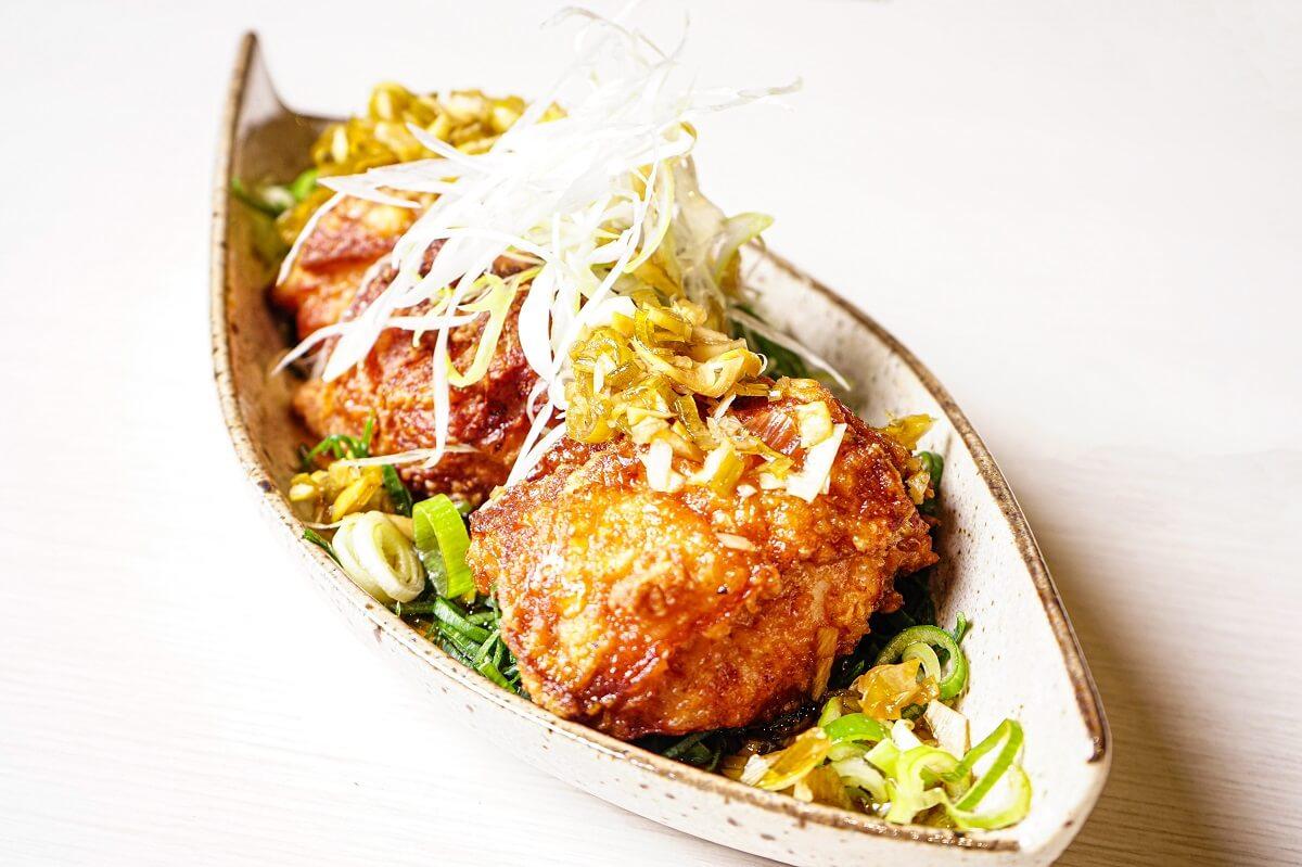 蝦夷麺 四の五の言わず 札幌本店のザンギ