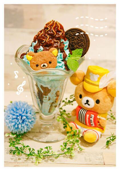 Rilakkuma × TOWER RECORDSキャンペーン2020『リラックマのチョコミントパフェ』
