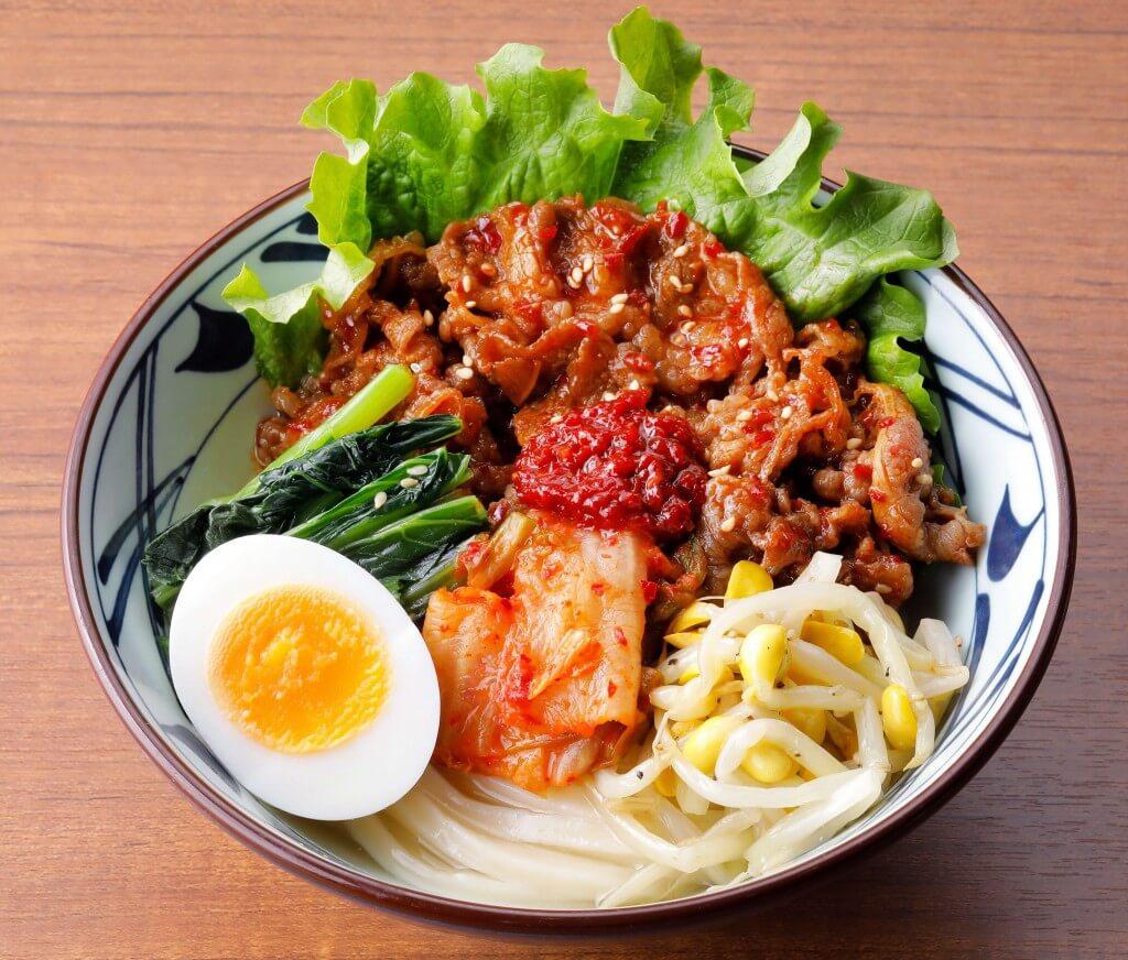 丸亀製麺の『辛辛(からから)牛焼肉冷麺』