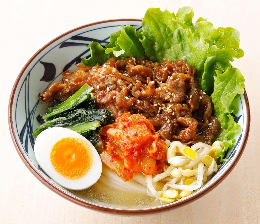 丸亀製麺の『牛焼肉冷麺』