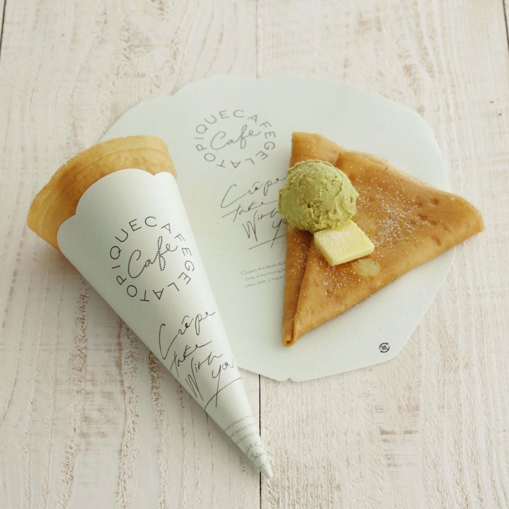 gelato pique cafe(ジェラート ピケ カフェ)のクレープ