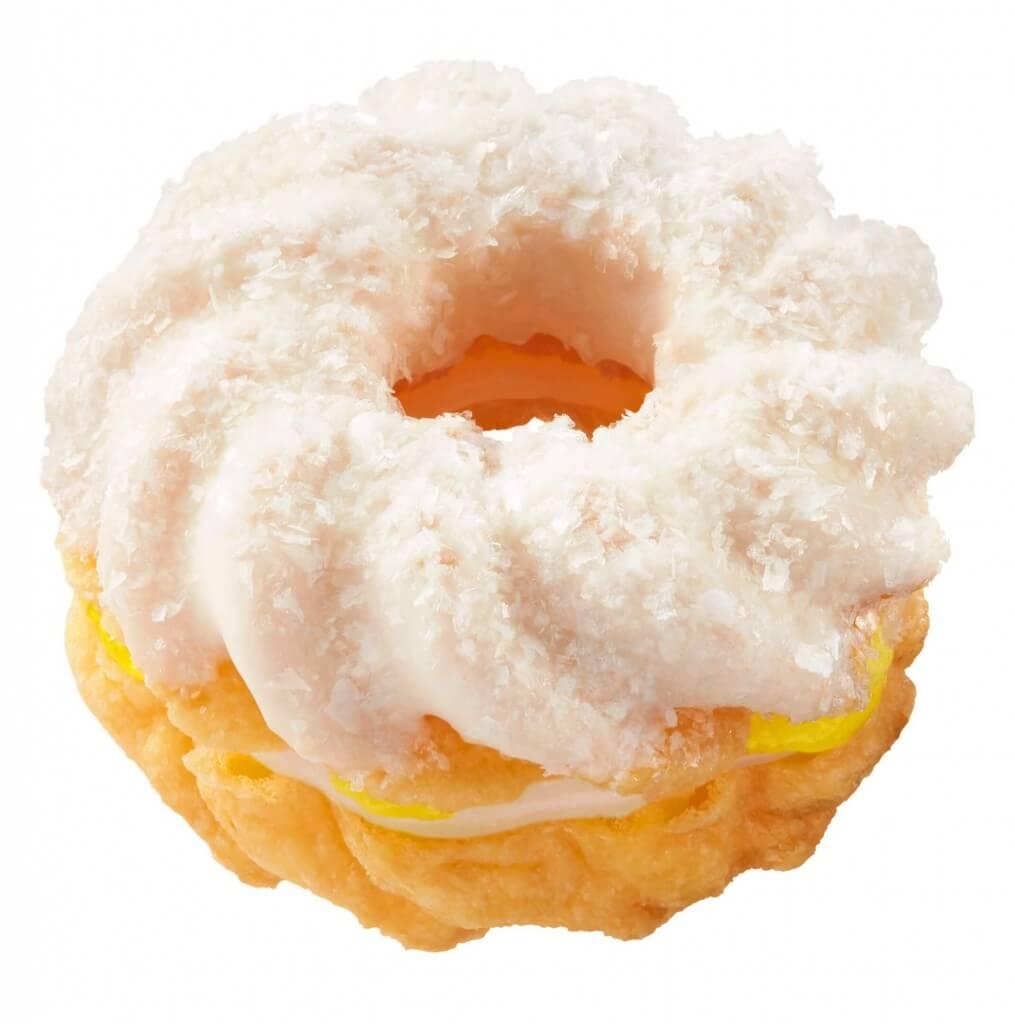 ミスタードーナツ『もちクリームドーナツコレクション』(レモンもちクリームフレンチ)