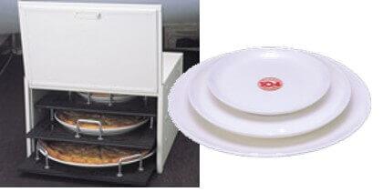 ピザ10.4(テン.フォー)の独自開発した耐熱・蓄熱に優れたプレート