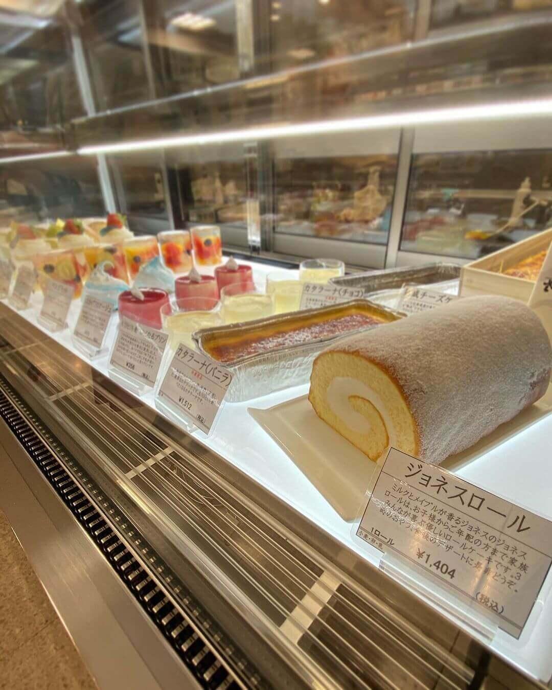 パティスリージョネス エスタ店のケーキ