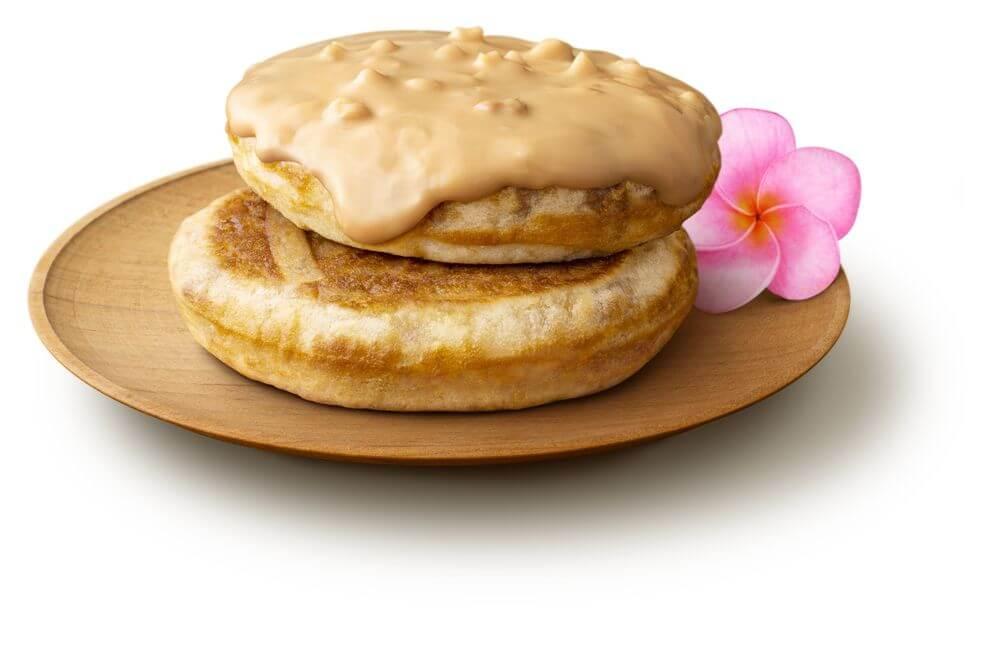 マクドナルドの『ハワイアンパンケーキ キャラメル&マカダミアナッツ』
