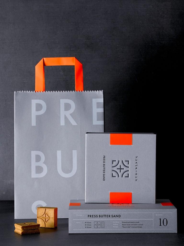 PRESS BUTTER SAND(プレスバターサンド)のパッケージ